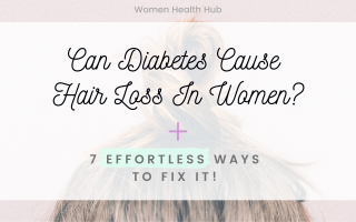 diabetes cause hair loss - blog post